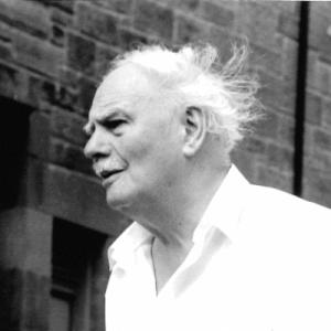 Hamish Henderson in 1997